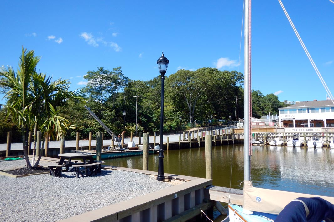 New Jersey Marina on the Metedeconk River in Brick, NJ
